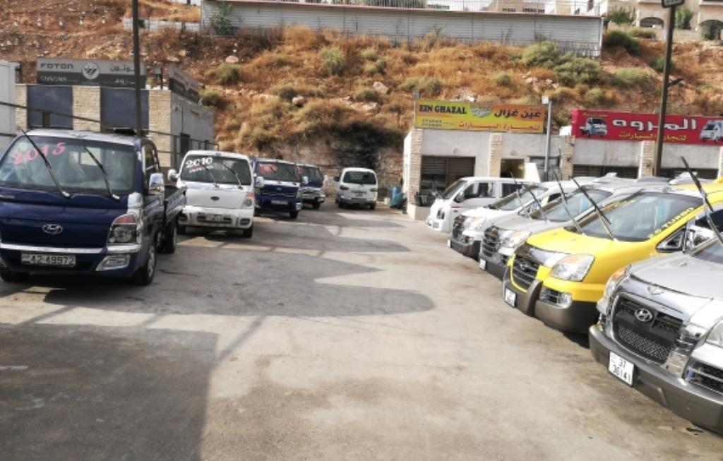 Ain Ghazal For Auto Trading Showroom