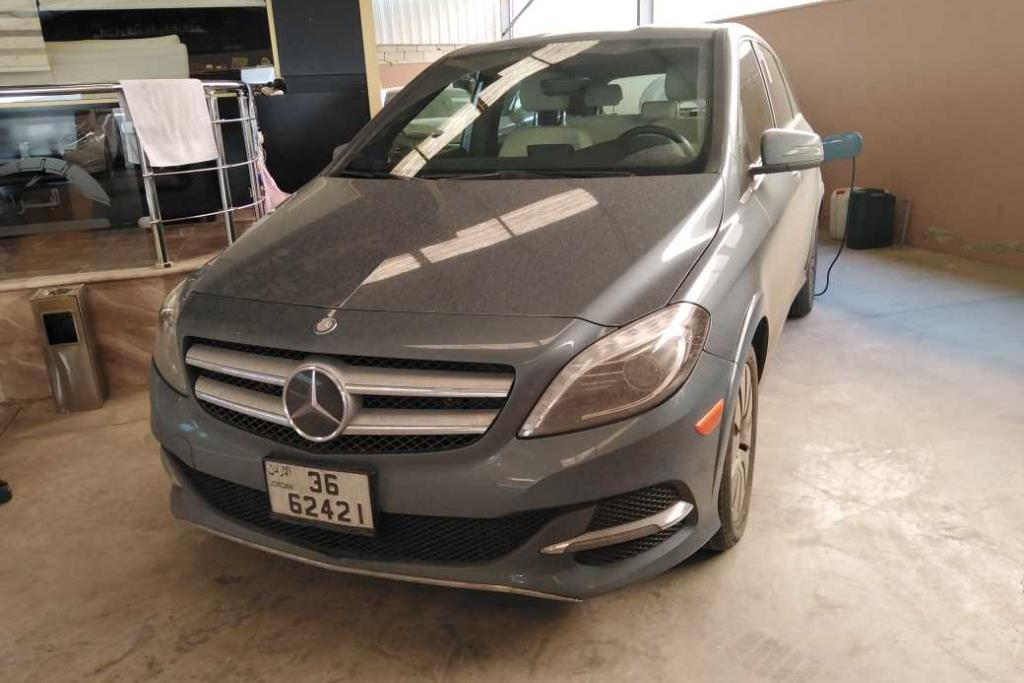 Mercedes Benz B Electric Drive 2014