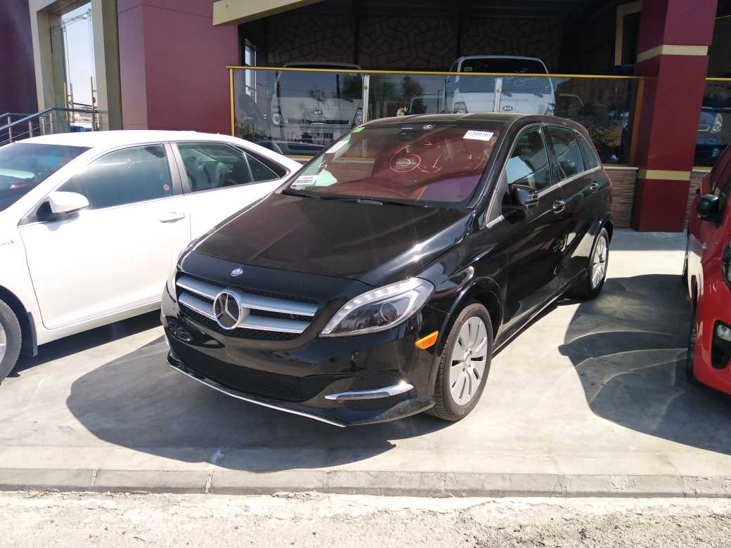 Mercedes Benz B Electric Drive 2015