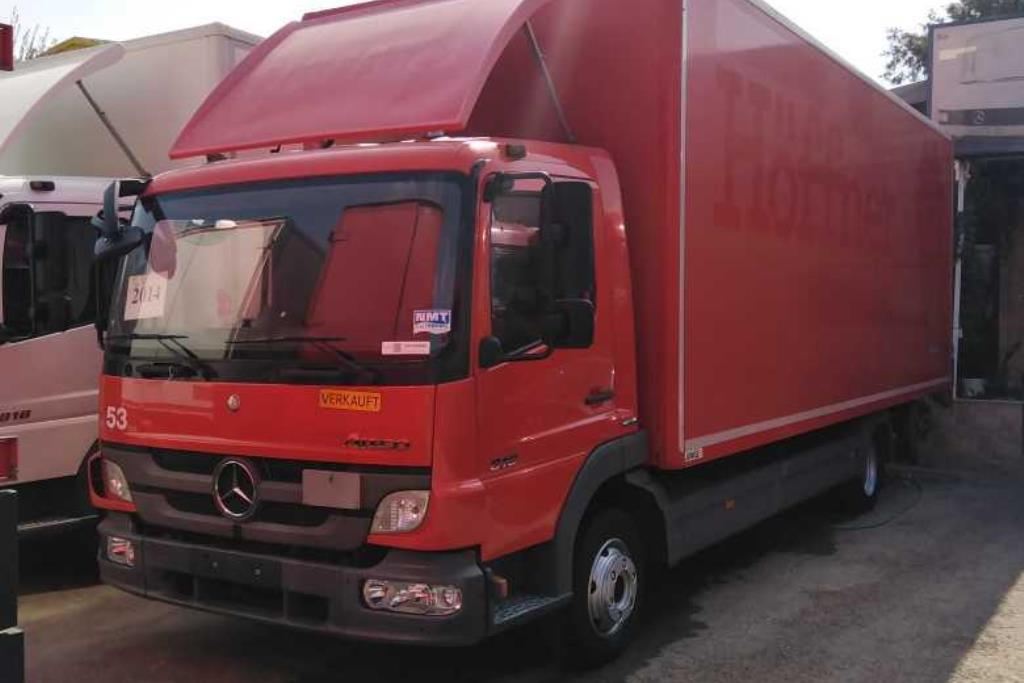 Box Mercedes Benz 2014