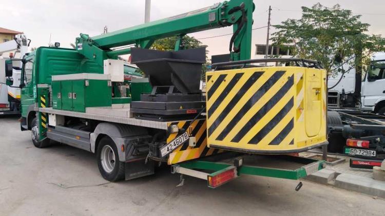 Tow Truck Mercedes Benz 2007