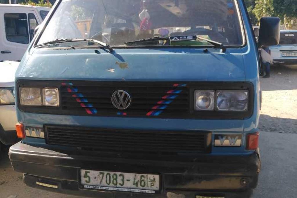 Minivan Volkswagen 1986