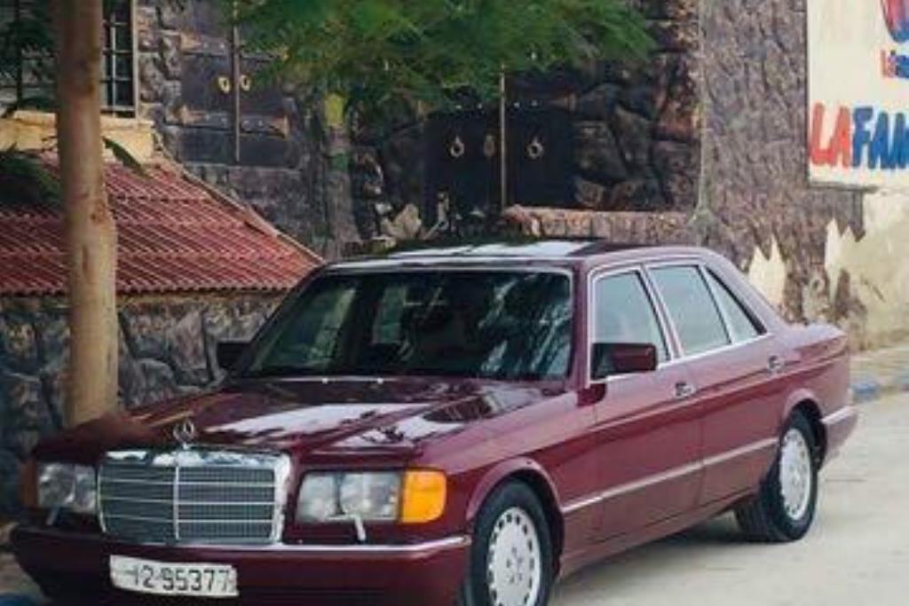 Mercedes Benz SL300 1986