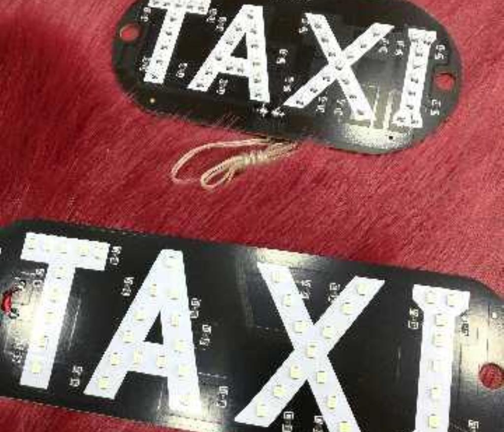 قارمة زجاج تاكسي