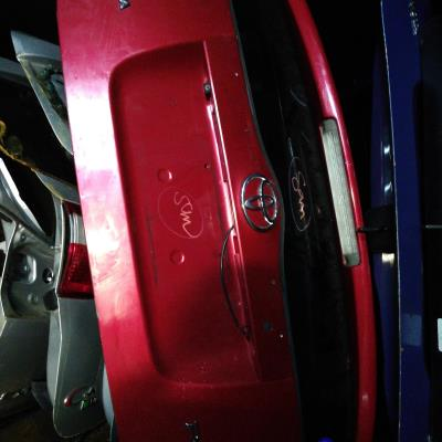 غطا صندوق خلفي تويوتا بريوس 2008 2010
