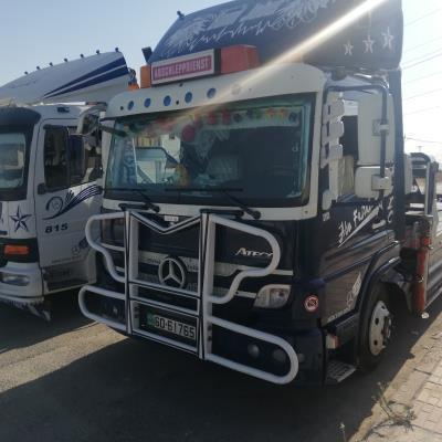 Tow Truck Mercedes Benz 2009