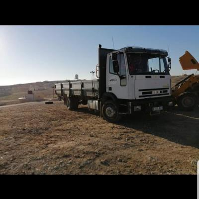 Flatbed with side Iveco 2000