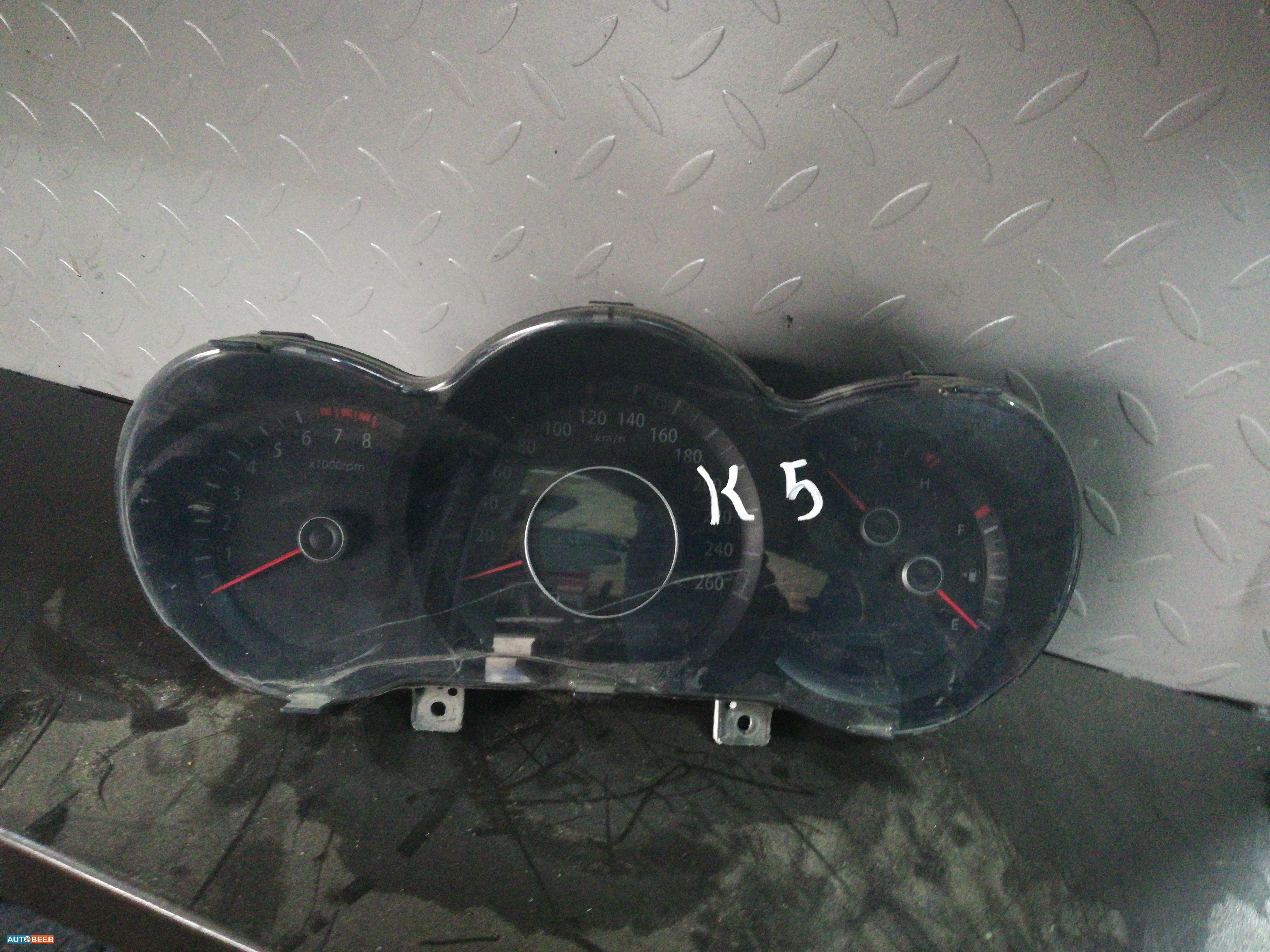 تابلو ساعات كيا اوبتما 2012