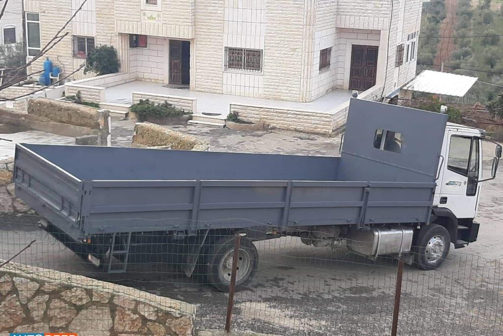 Flatbed Iveco 2000