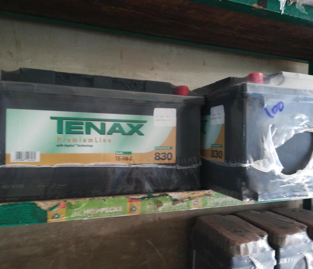 بطارية تيناكس 100 انبير