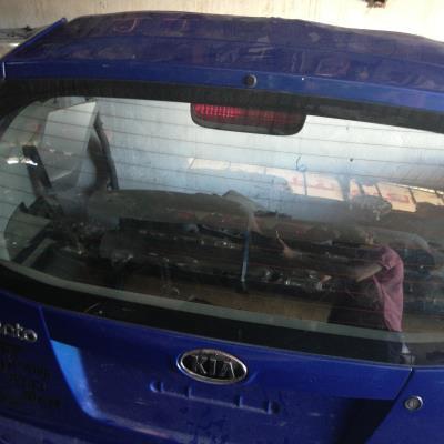 غطا صندوق خلفي كيا بيكانتو 2009 2010 2011