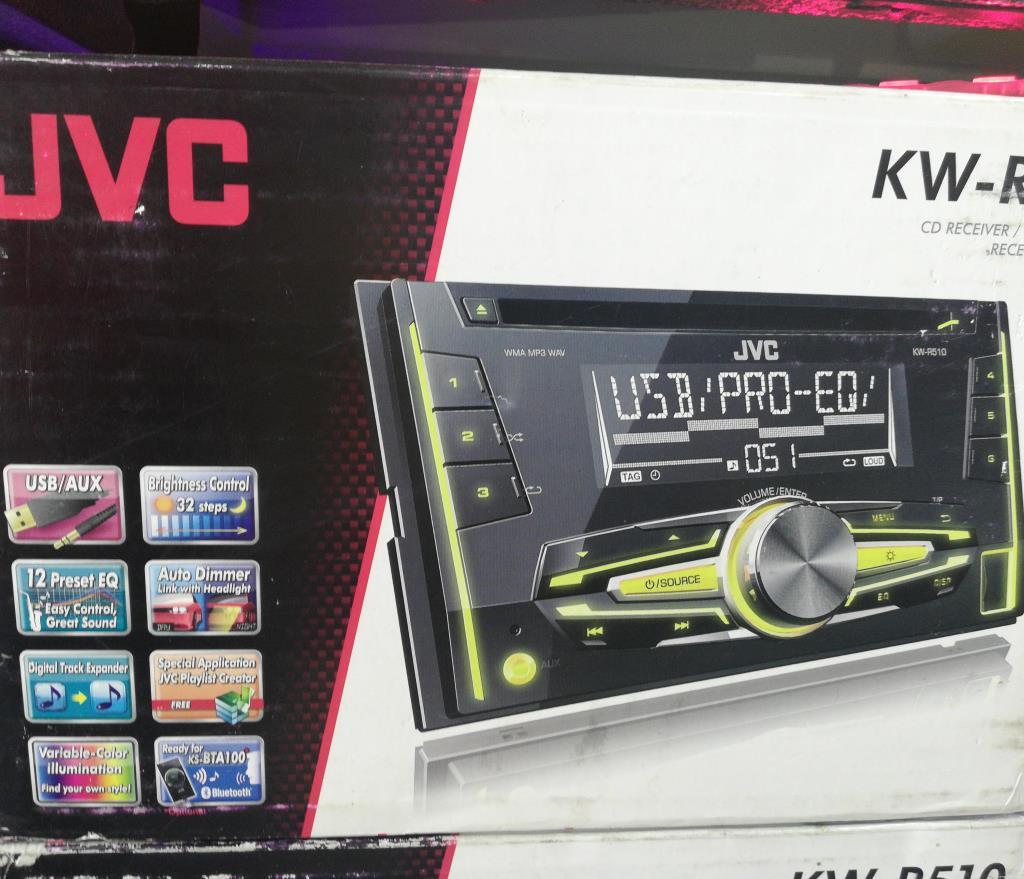 مسجل CD JVC