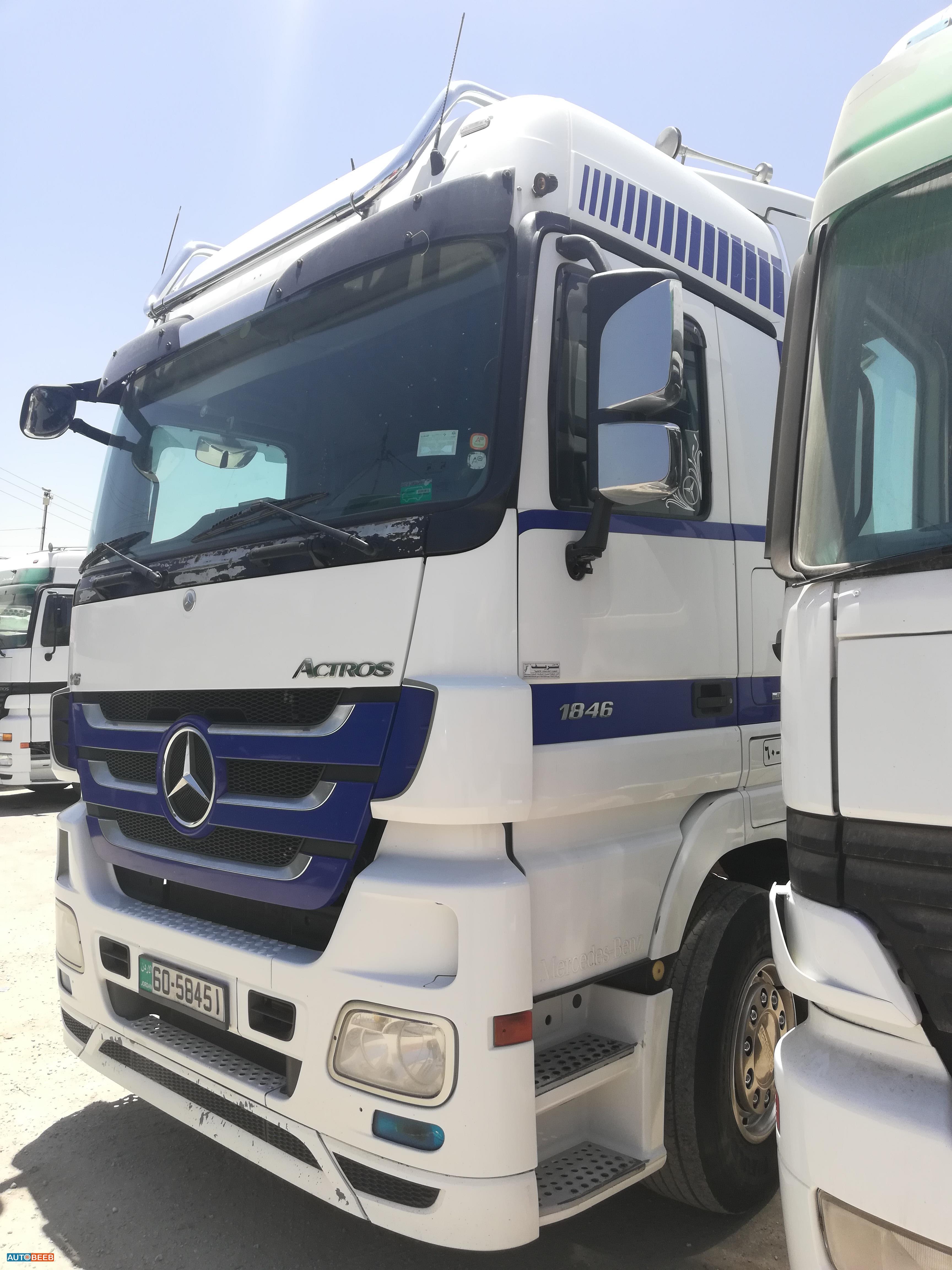 Tractor Unit Mercedes Benz 2008
