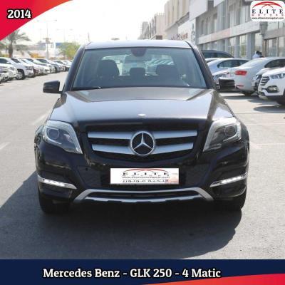 Mercedes Benz GLK250 2014