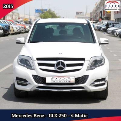 Mercedes Benz GLK250 2015