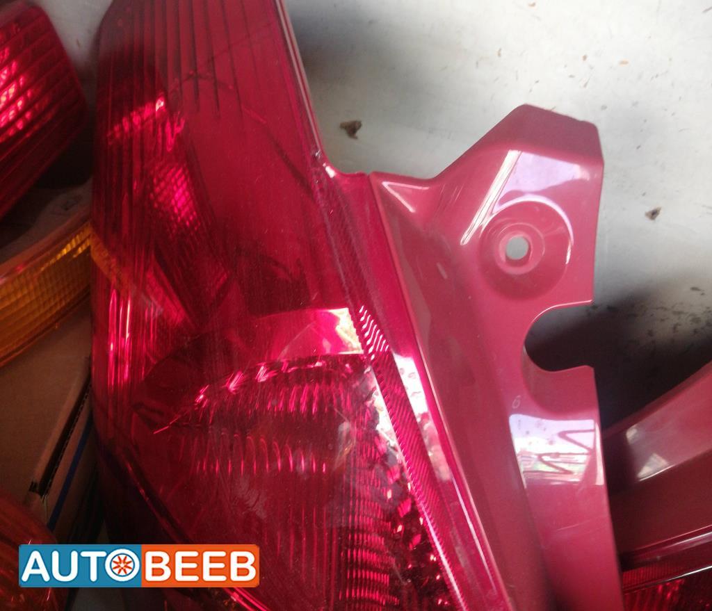 Lights Rear light Suzuki Swift
