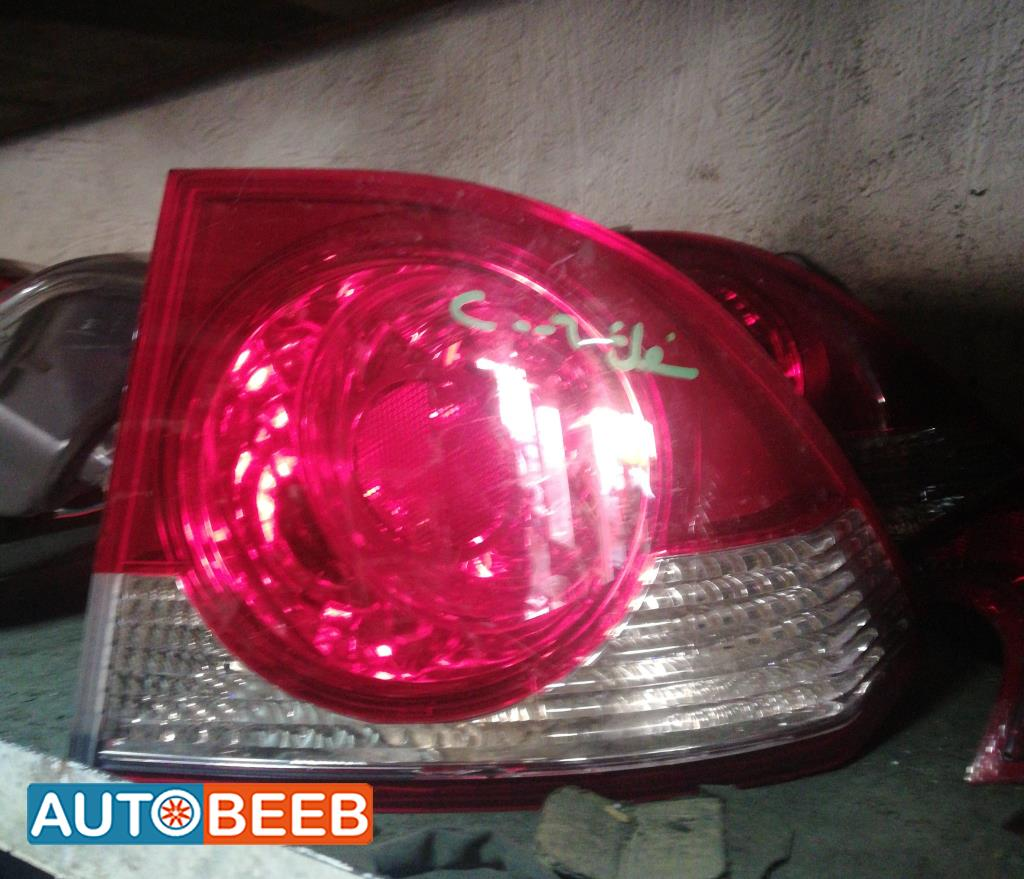 Lights Rear light Honda Civic
