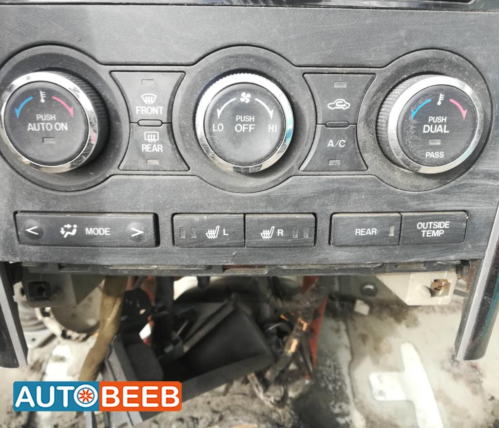Cabin  Control buttons Mazda CX9