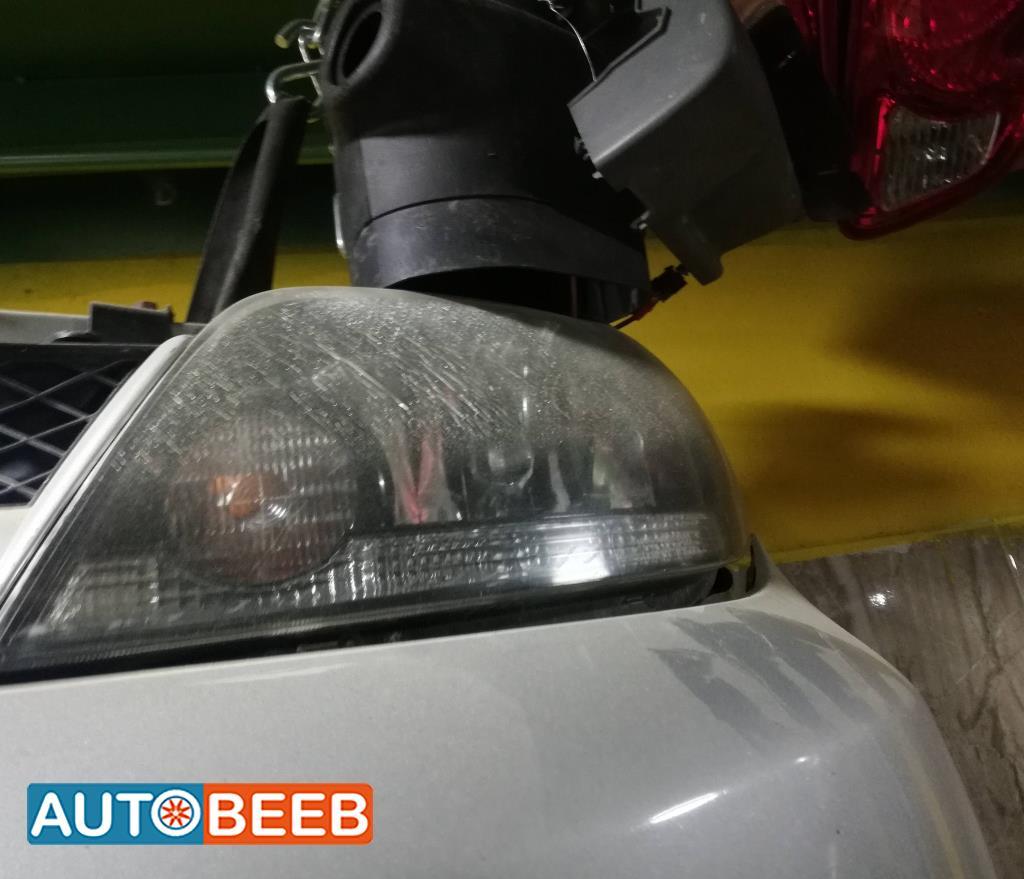 Lights Front light Mitsubishi Outlander