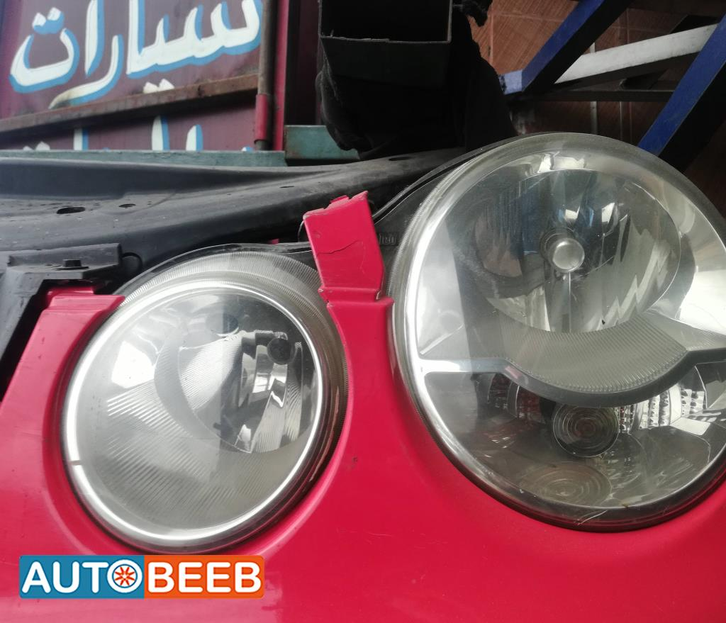 Lights Front light Volkswagen Polo