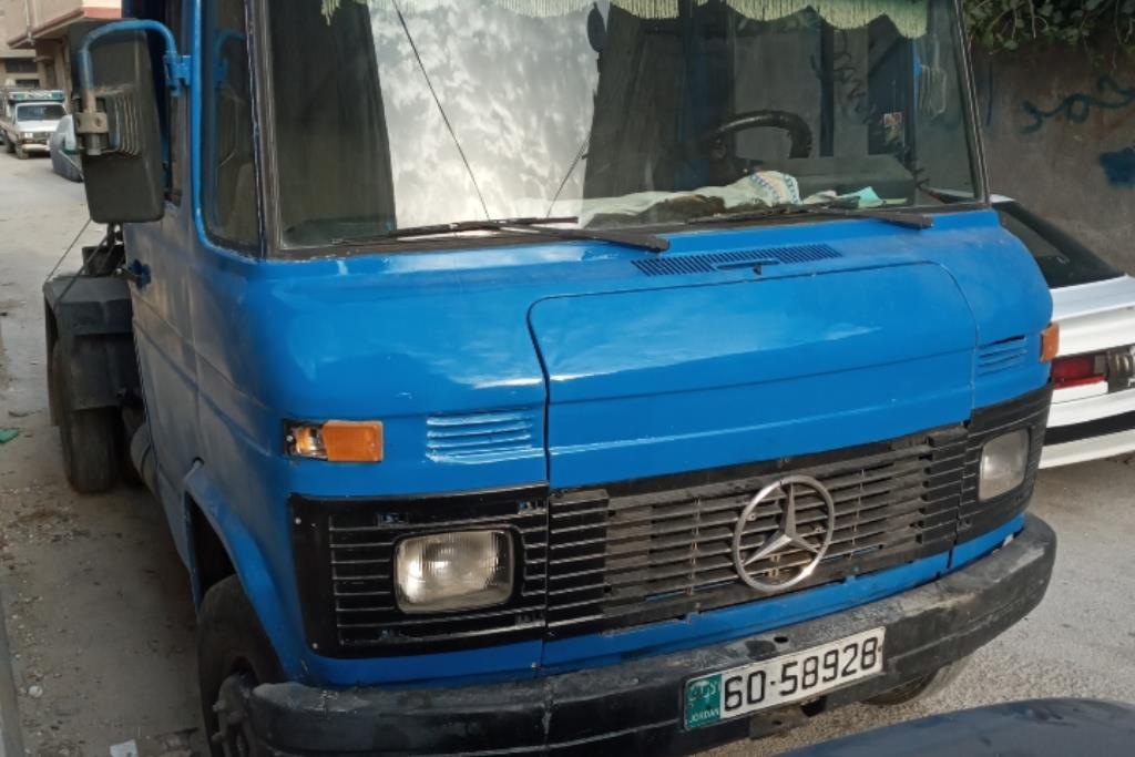 Tank Mercedes Benz 1985