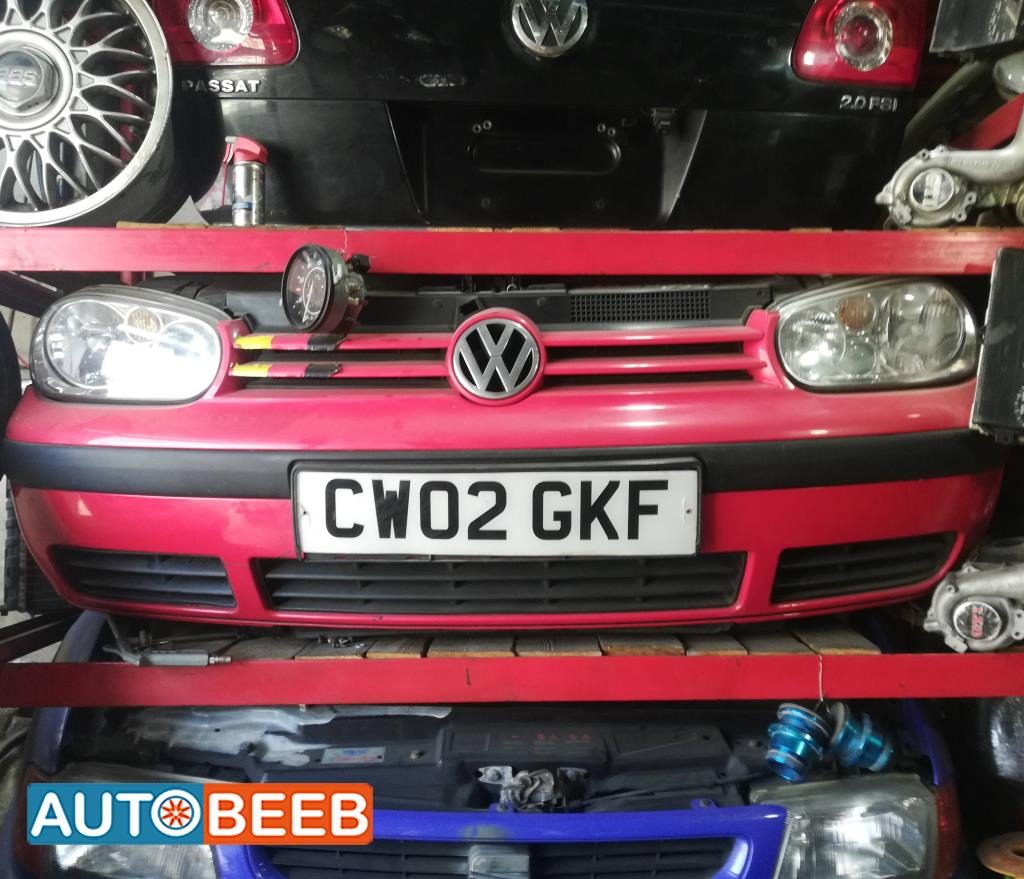 Body  Bumper Volkswagen Golf