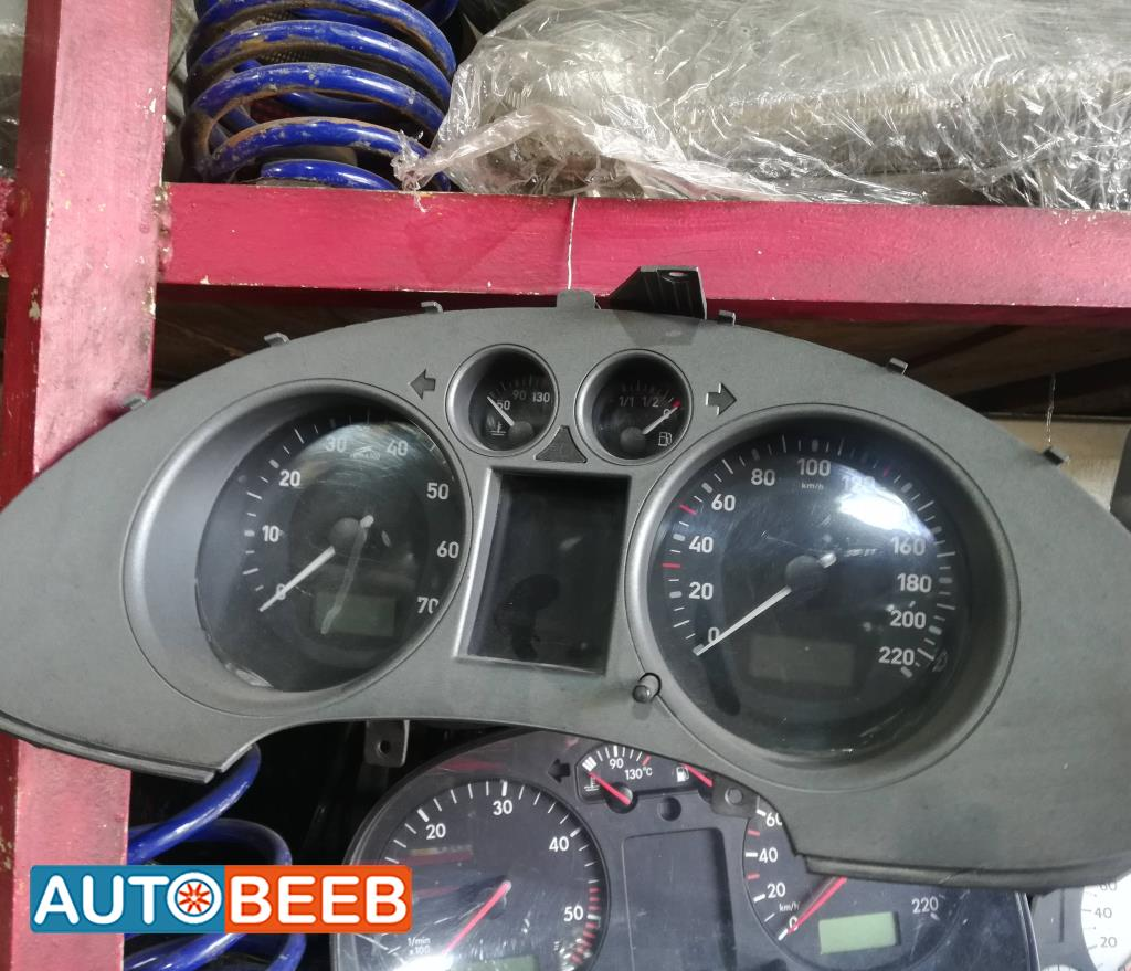 Cabin  Gauges and meters Seat Ibiza