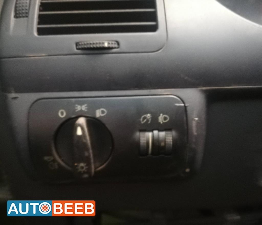 Cabin  Control buttons Seat Ibiza