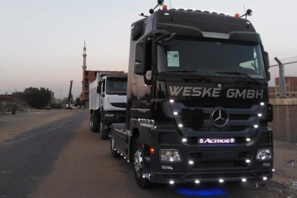 Tractor Unit Mercedes Benz 2007