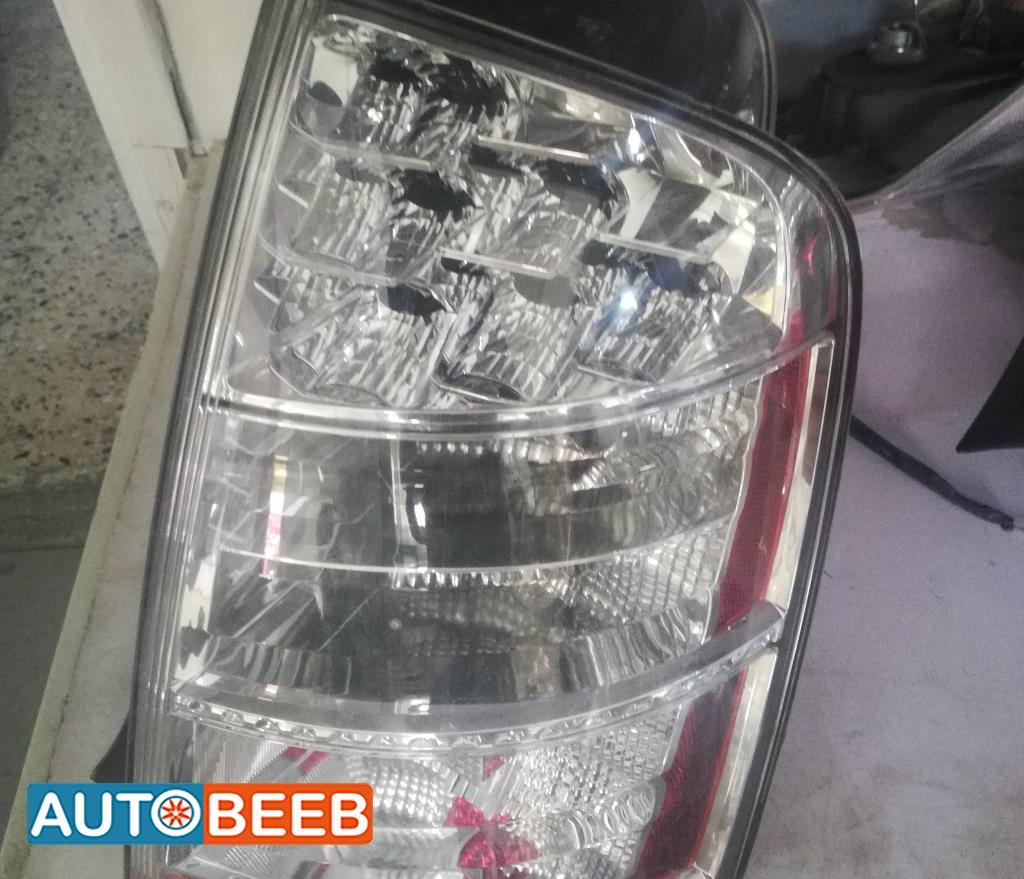 Lights Rear light Toyota Prius