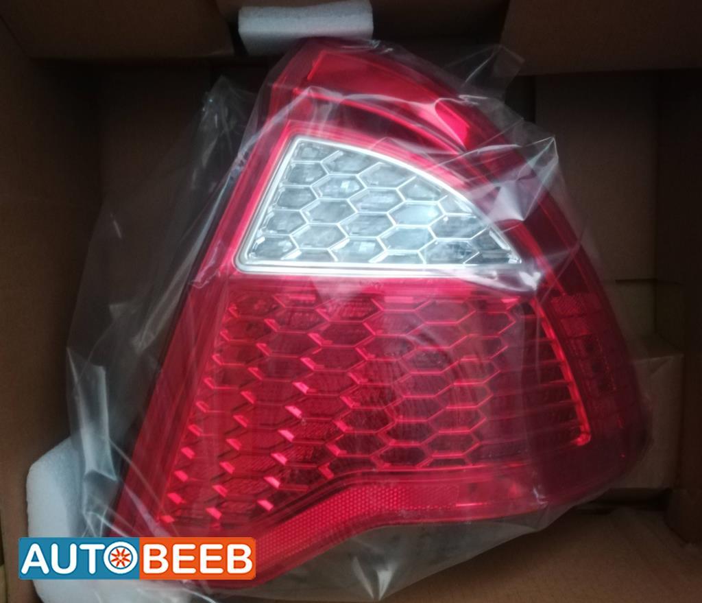 Lights Rear light Ford Escape