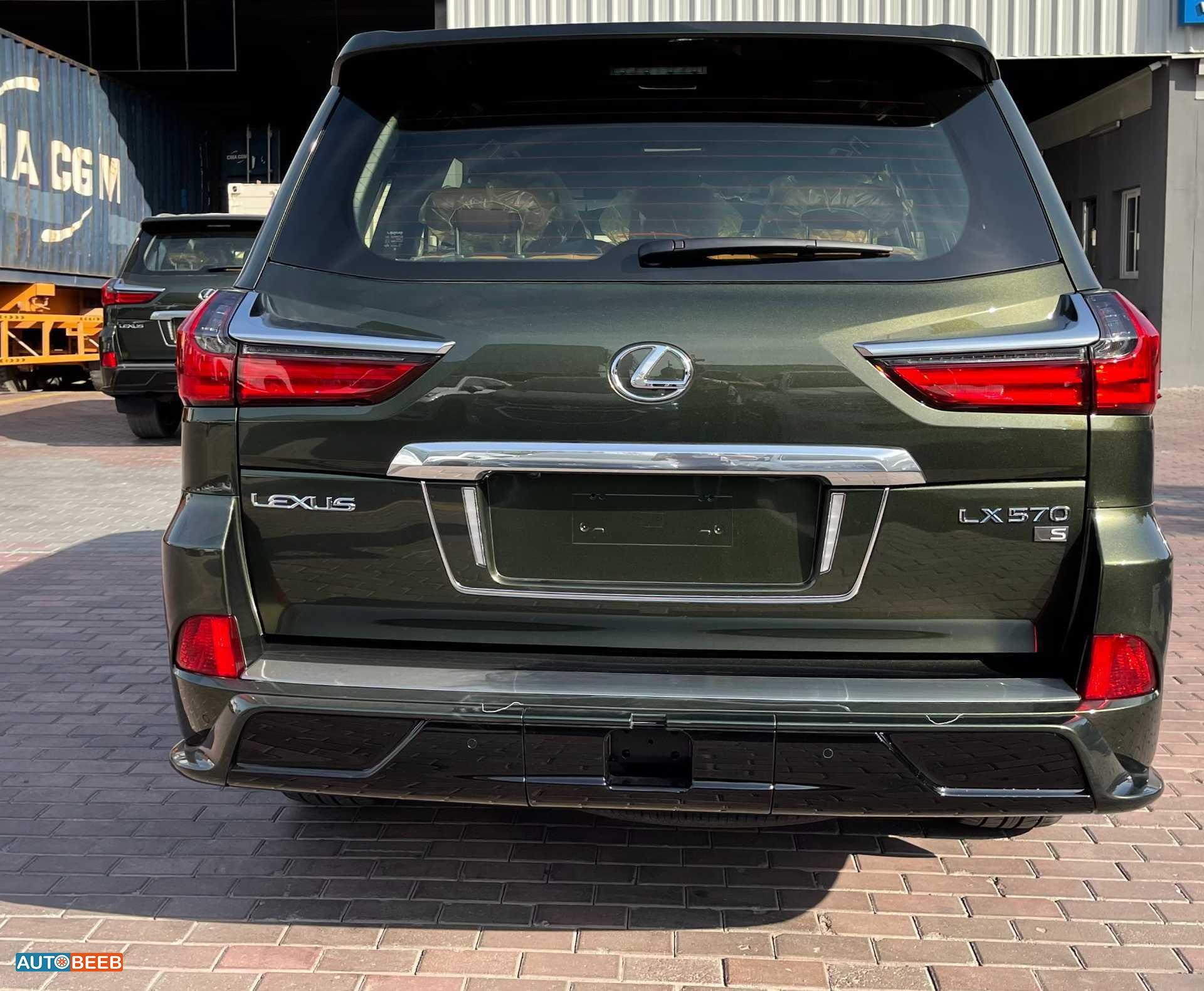 Lexus LX570 2021