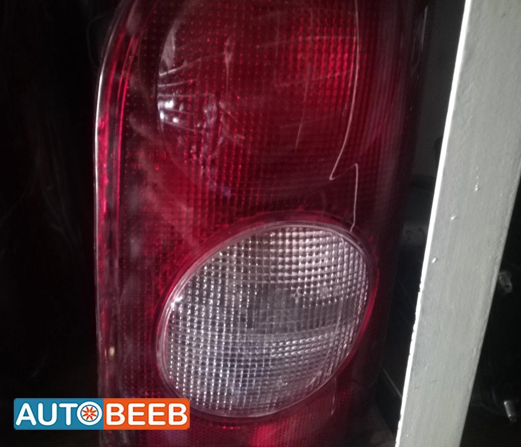 Lights Rear light Hyundai H100
