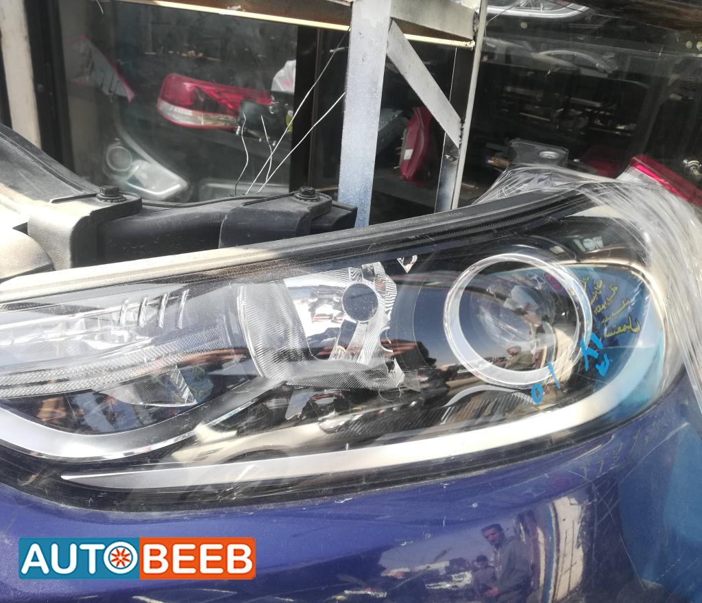 Lights Front light Hyundai Avante