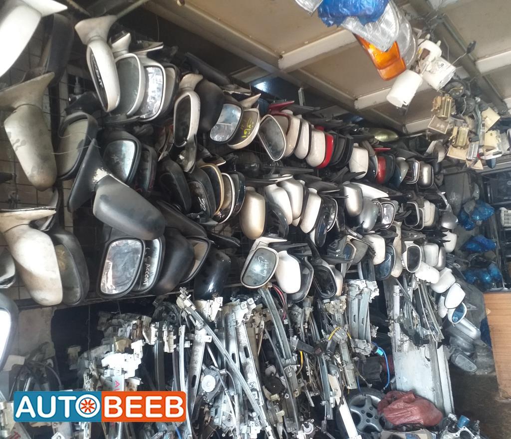 جميع قطع السيارات الكوريه المستعملة
