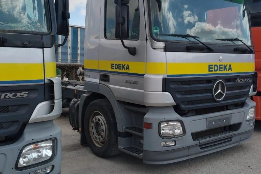 Chassis Mercedes Benz 2008