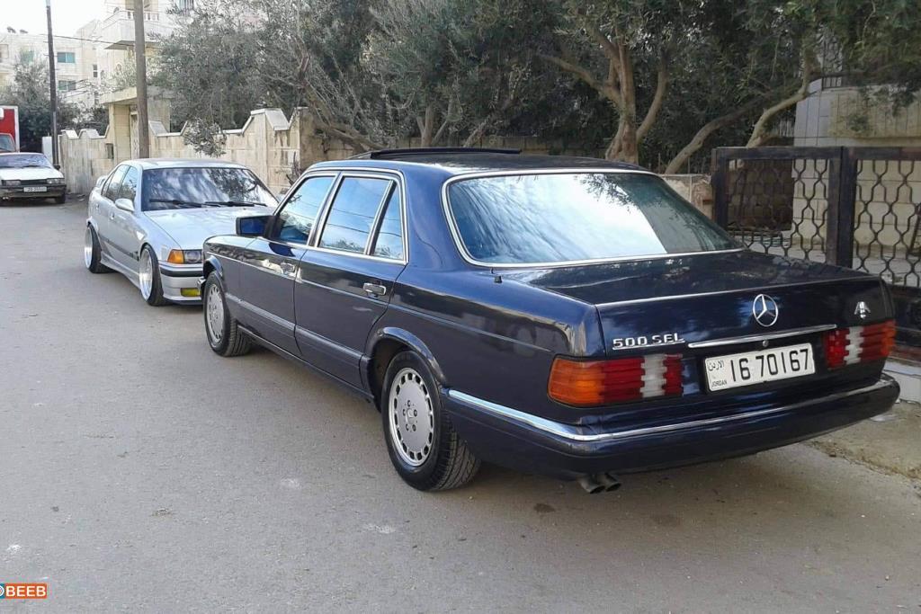 Mercedes Benz S500 1987