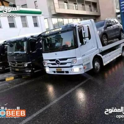 Tow Truck Mercedes Benz 2000